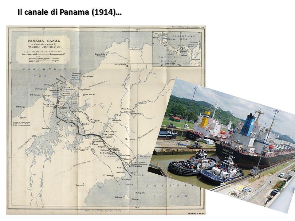 Il canale di Panama (1914)…