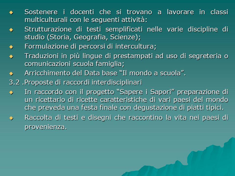 3.GRUPPO DI RICERCA – AZIONE 3.1.1. Modalità: Per l'attuazione del progetto è necessario costituire un gruppo di lavoro che si incontrerà mensilmente.