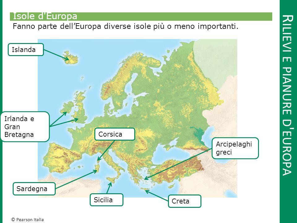 © Pearson Italia F IUMI, MARI E LAGHI D ' EUROPA Le coste In Europa si trova una grande varietà di coste.