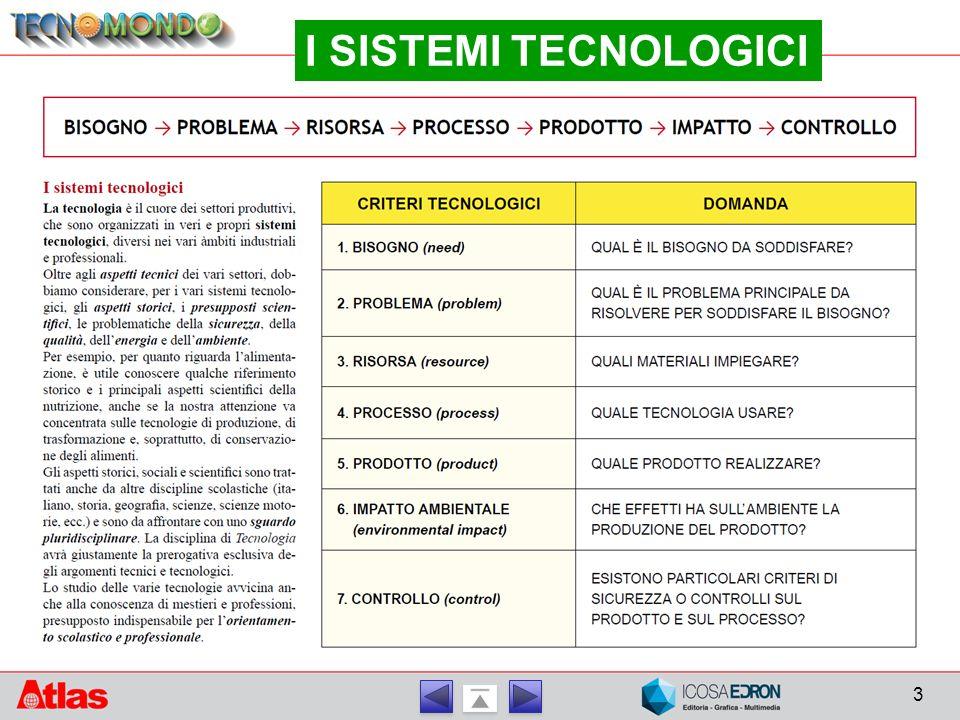 3 I SISTEMI TECNOLOGICI
