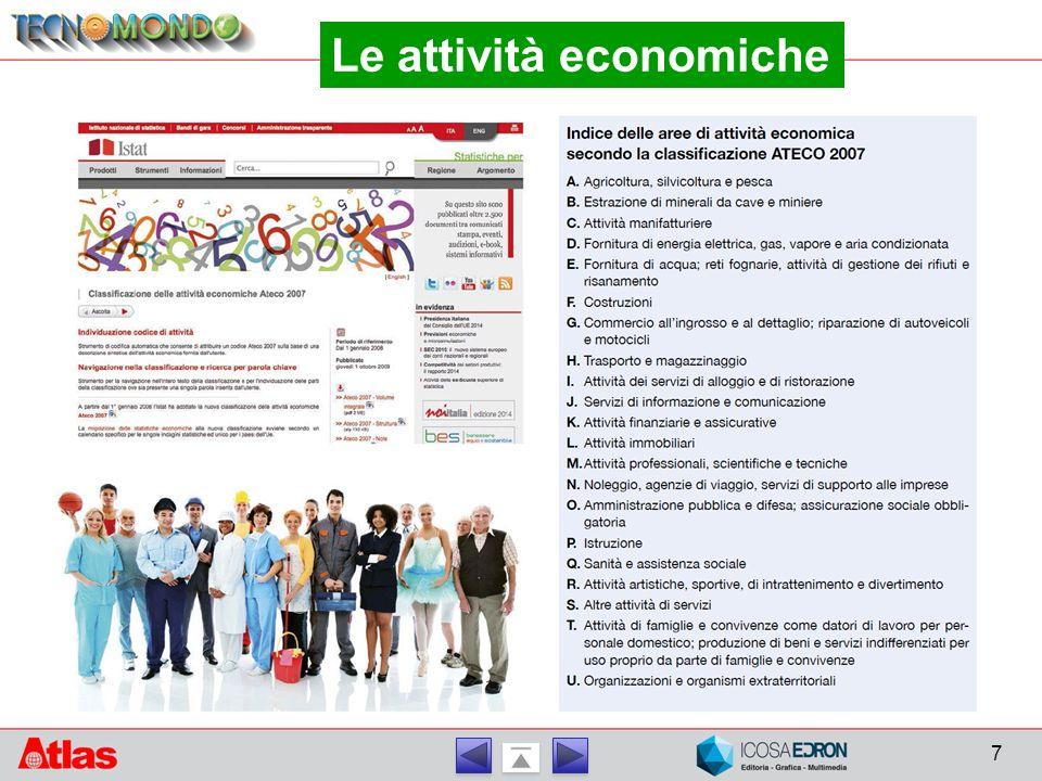 7 Le attività economiche