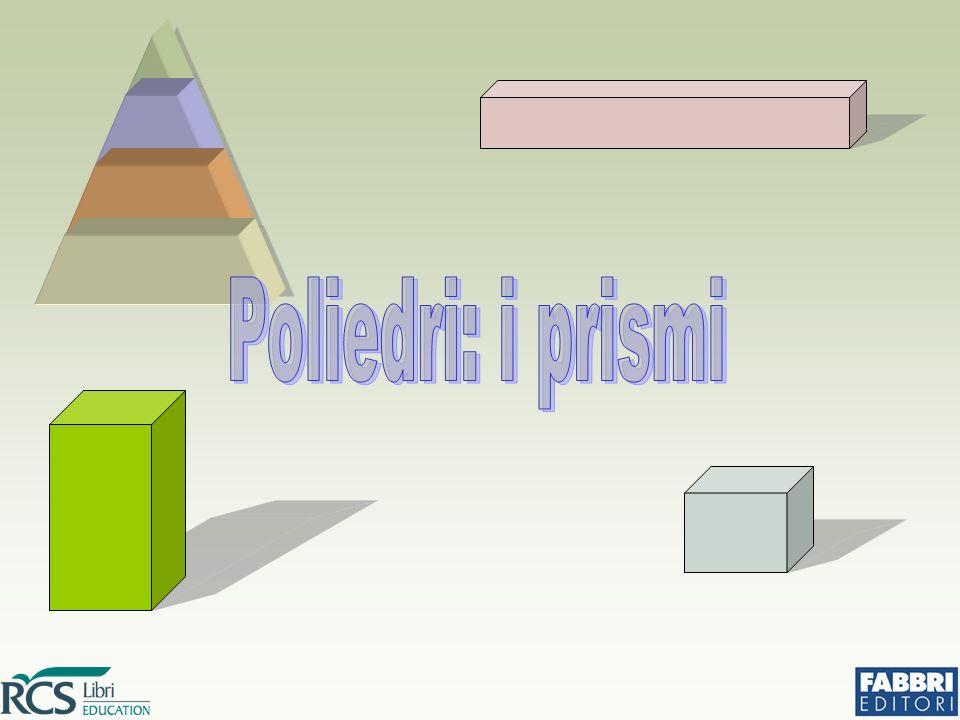 Poliedri regolari Un poliedro si dice regolare se tutte le sue facce sono poligoni regolari congruenti fra loro.