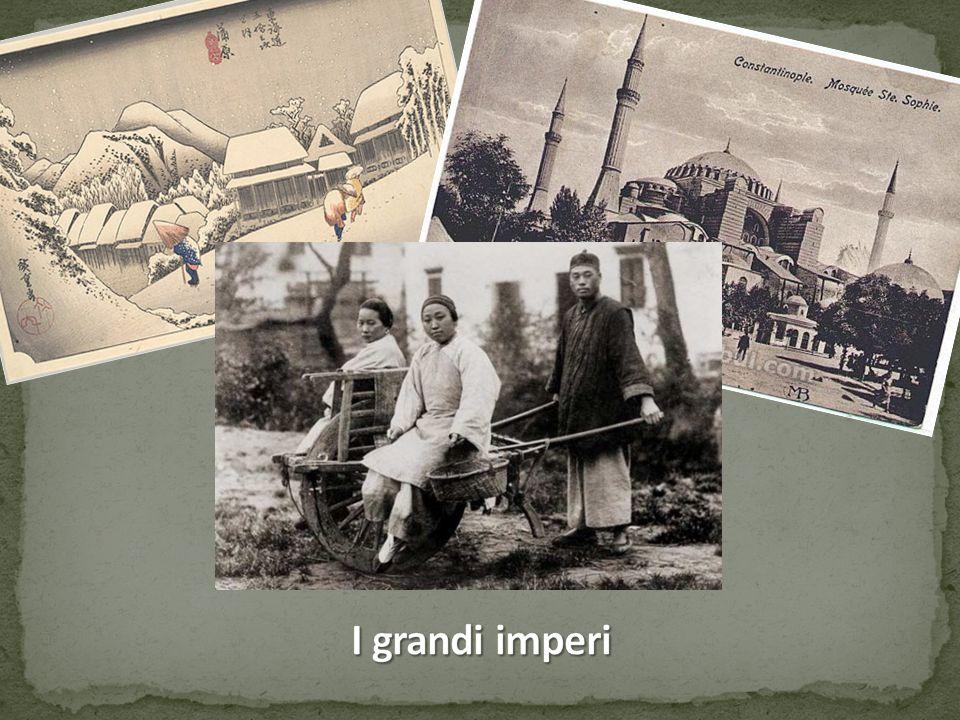 Grandi imperi convivono con la trasformazione dell'Europa (Cina, India, Persia, Turchi Ottomani, Giappone…).