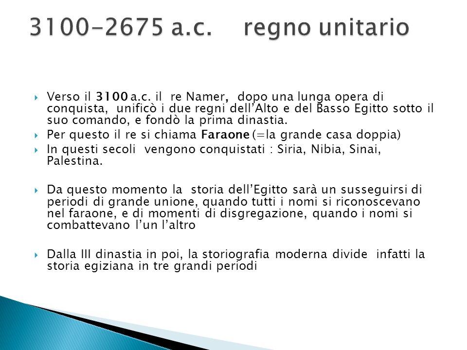  Verso il 3100 a.c.
