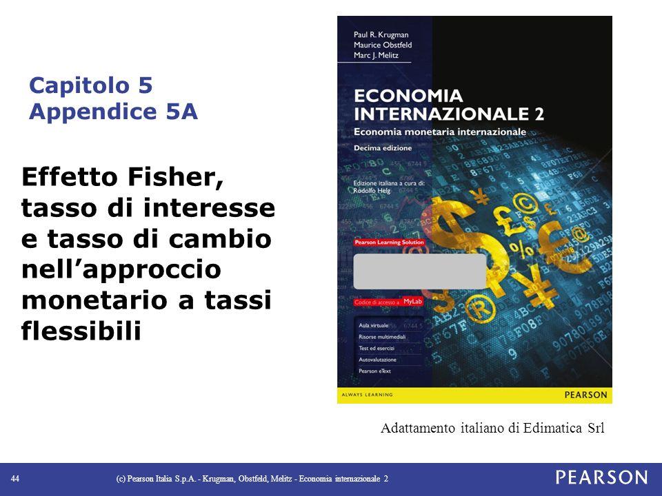 Capitolo 5 Appendice 5A (c) Pearson Italia S.p.A.