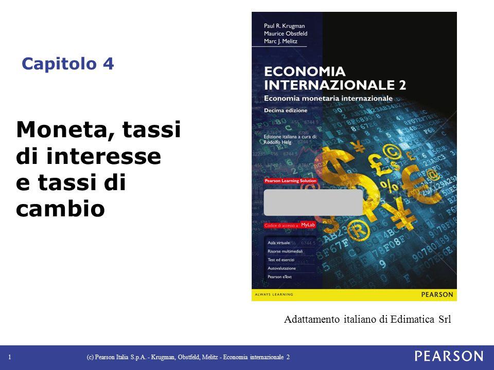 Capitolo 4 (c) Pearson Italia S.p.A.