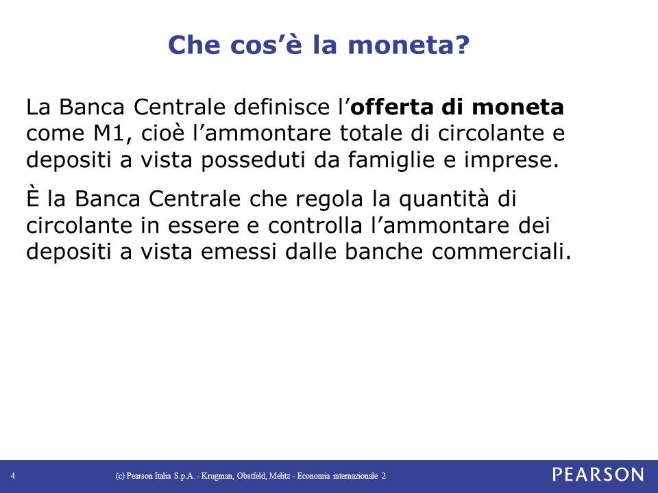 Figura 4.13 Andamento nel tempo delle variabili economiche statunitensi a seguito di un incremento permanente dell'offerta di moneta negli Stati Uniti (c) Pearson Italia S.p.A.