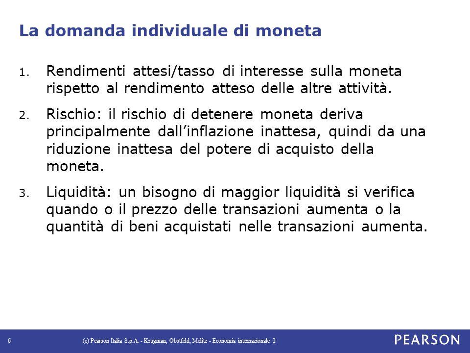 Figura 4.5 L'effetto di un incremento del reddito reale sul tasso di interesse (c) Pearson Italia S.p.A.