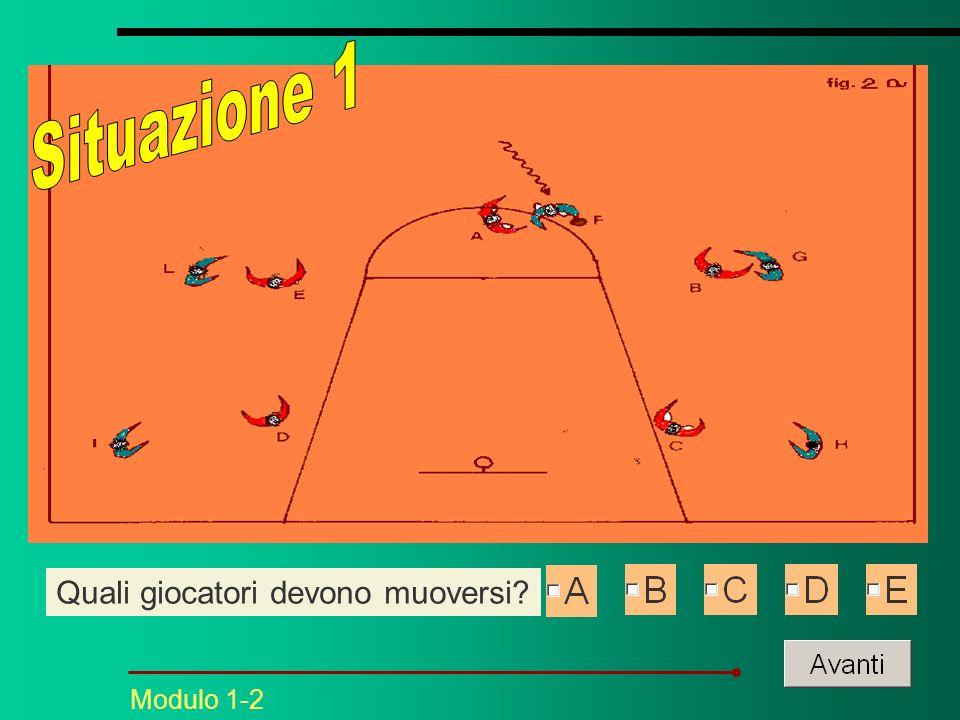 Modulo 1-2 Quali giocatori devono muoversi?