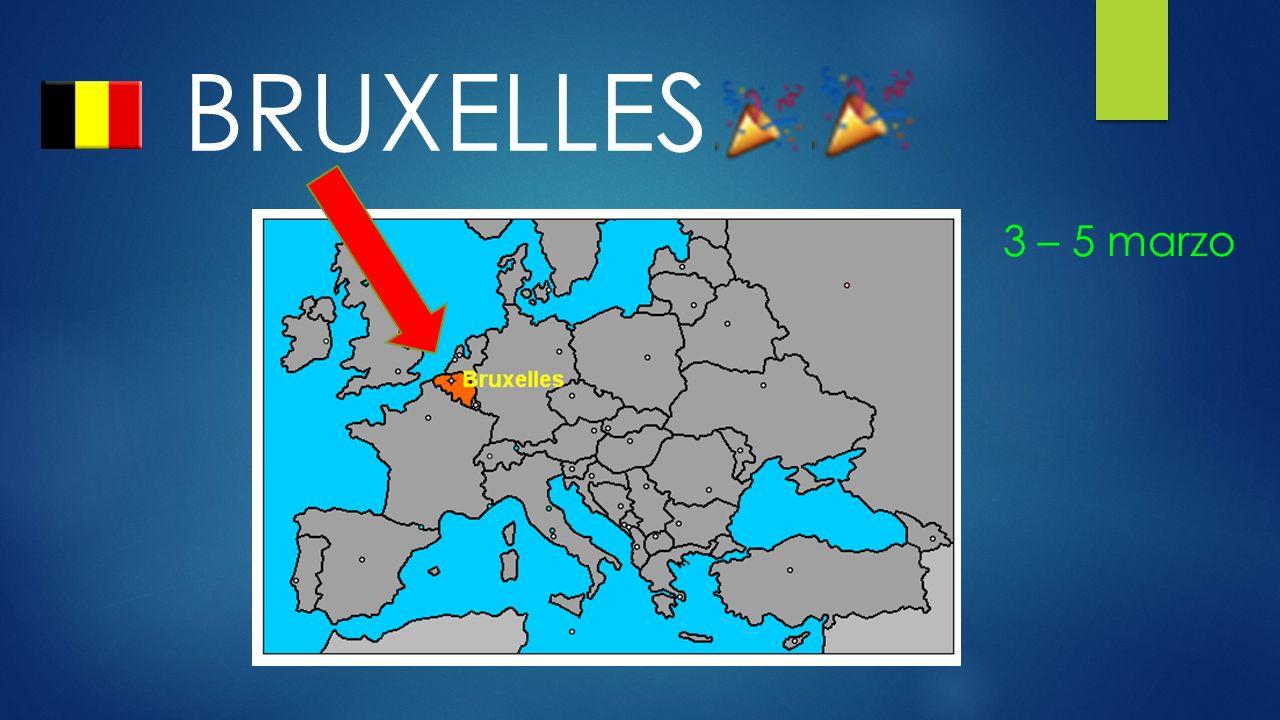 BRUXELLES 3 – 5 marzo