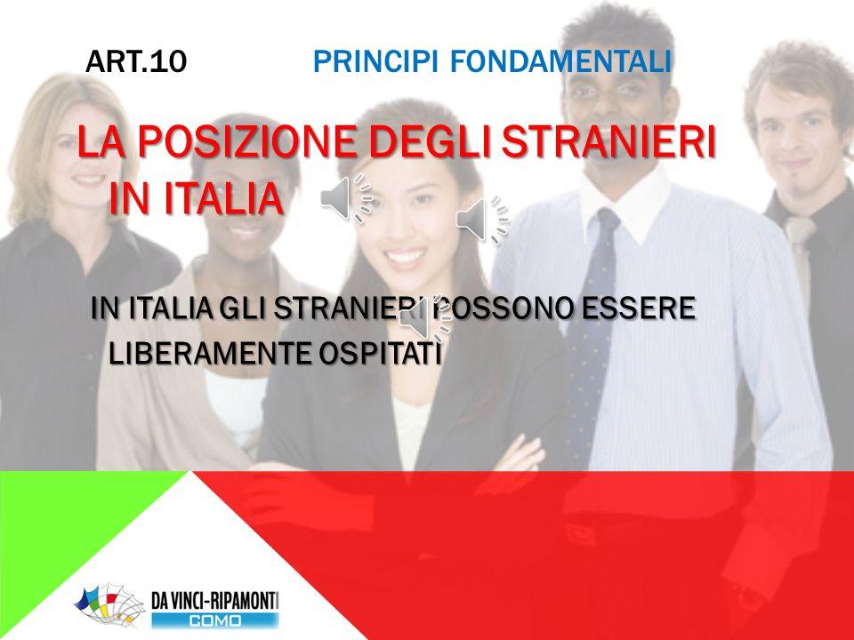 ART. 9 PRINCIPI FONDAMENTALI PROGRESSO SOCIALE L' ITALIA AIUTA LA DIFFUSIONE DELLA CULTURA, SI ASSUME IL COMPITO DI DIFENDERE IL PAESAGGIO E TUTTE LE