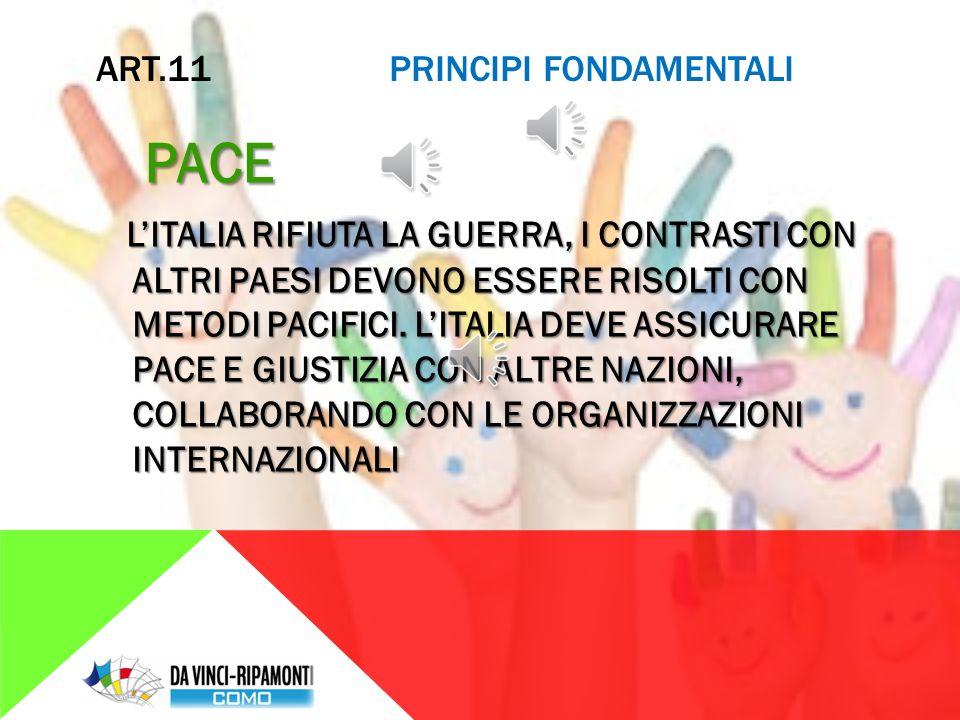 ART.10 PRINCIPI FONDAMENTALI LA POSIZIONE DEGLI STRANIERI IN ITALIA IN ITALIA GLI STRANIERI POSSONO ESSERE LIBERAMENTE OSPITATI IN ITALIA GLI STRANIERI POSSONO ESSERE LIBERAMENTE OSPITATI