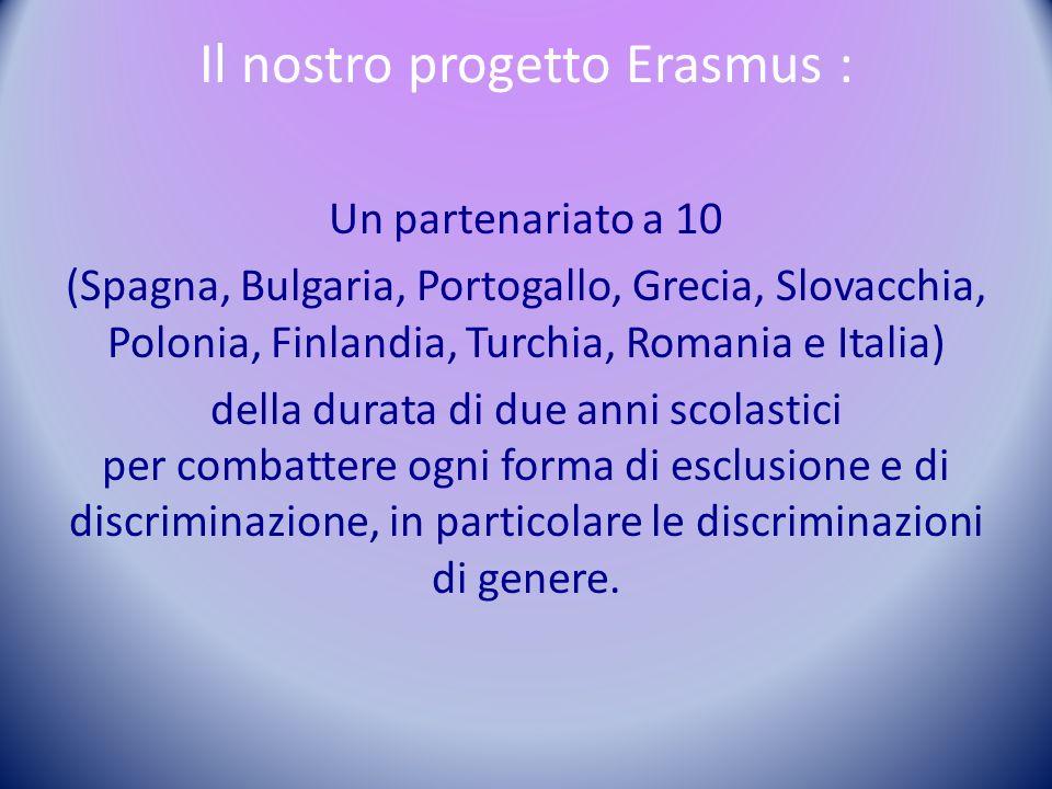 S/he's equal in Europe Partenariato strategico Nell'ambito dell'Istruzione Scolastica ERASMUS + KA2 COLLABORAZIONE IN MATERIA DI INNOVAZIONE E SCAMBIO DI BUONE PRATICHE