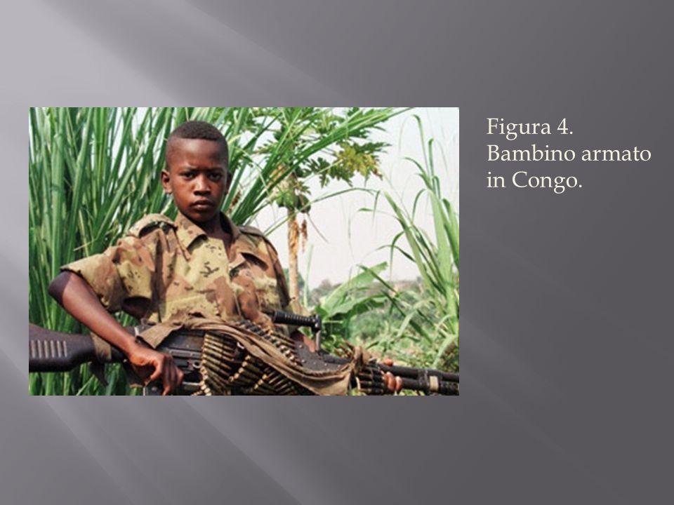 Figura 4. Bambino armato in Congo.