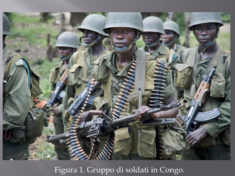 Figura 1. Gruppo di soldati in Congo.