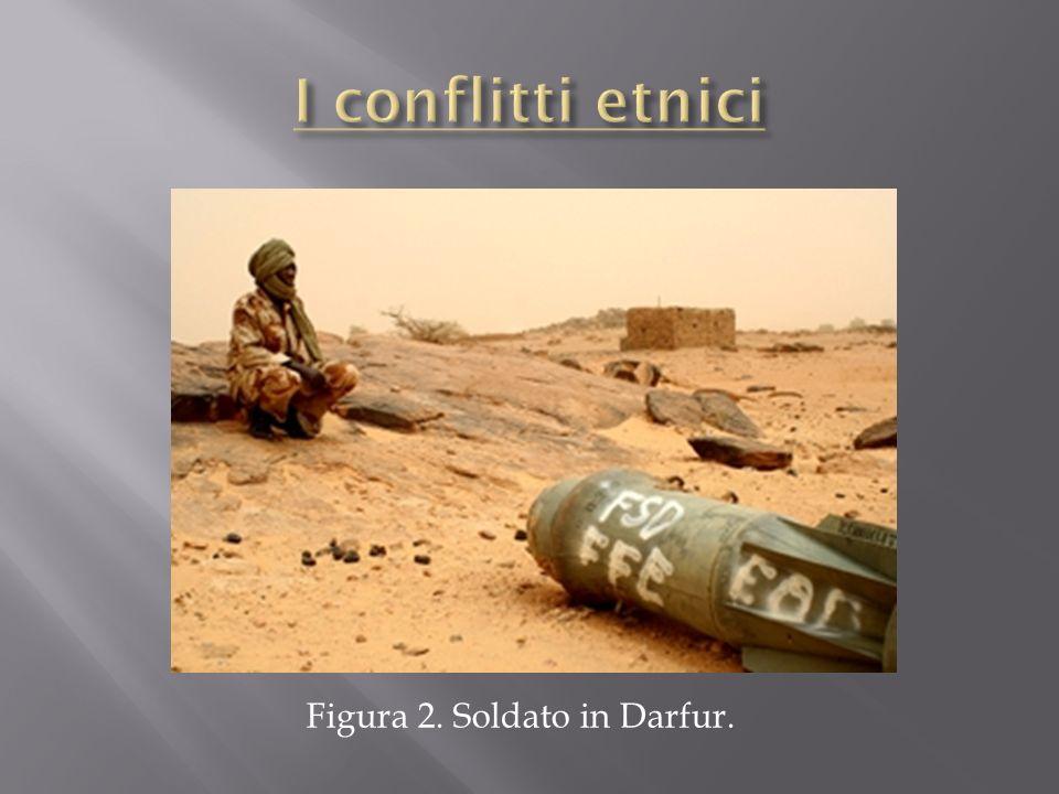 Figura 2. Soldato in Darfur.