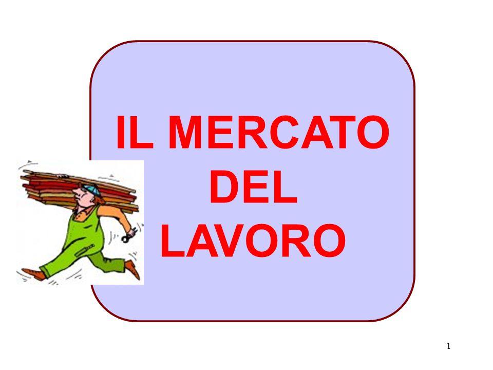 1 IL MERCATO DEL LAVORO