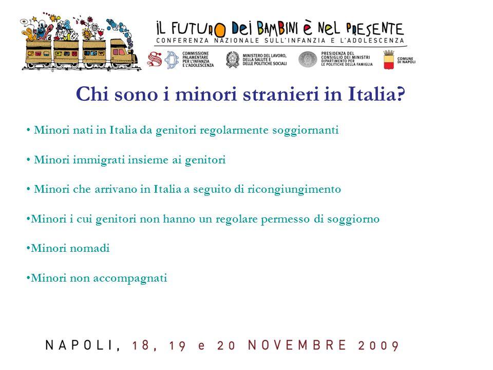 Chi sono i minori stranieri in Italia.