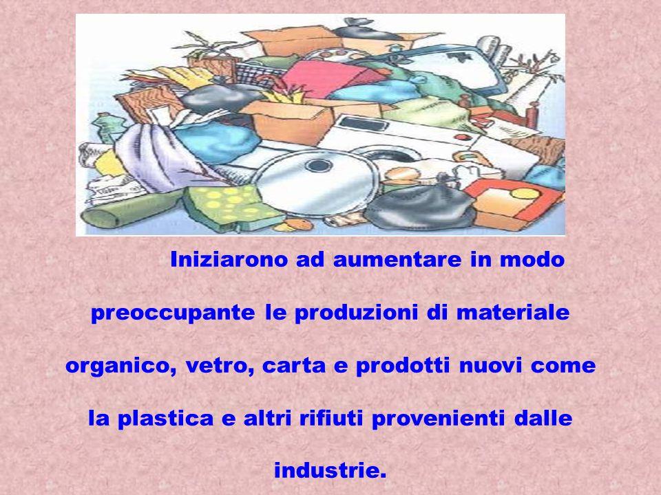 Dopo la seconda guerra mondiale la situazione dei rifiuti si aggravò progressivamente con la nascita della civiltà dei consumi .