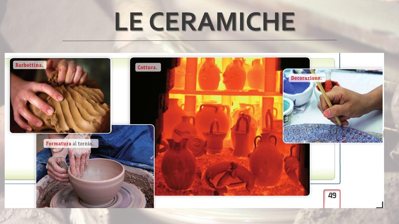 La prima fase della produzione è la macinazione dell'argilla, del calcio e del quarzo, nelle dosi desiderate.