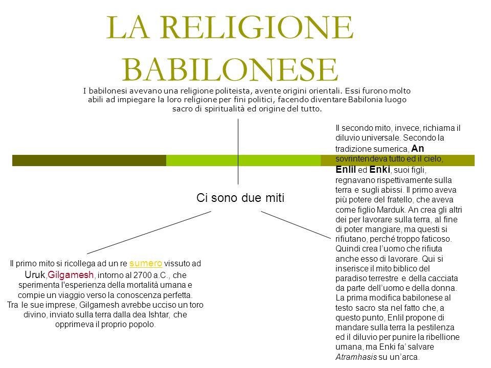 Somiglianze tra cosmogonia (origini del cosmo) biblica e orientale Entrambe ammettono al principio un elemento primordiale acquoso. Per entrambe la pr