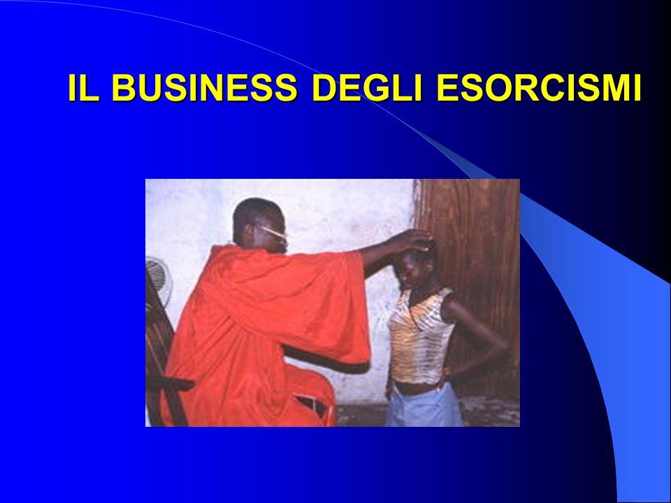 IL BUSINESS DEGLI ESORCISMI