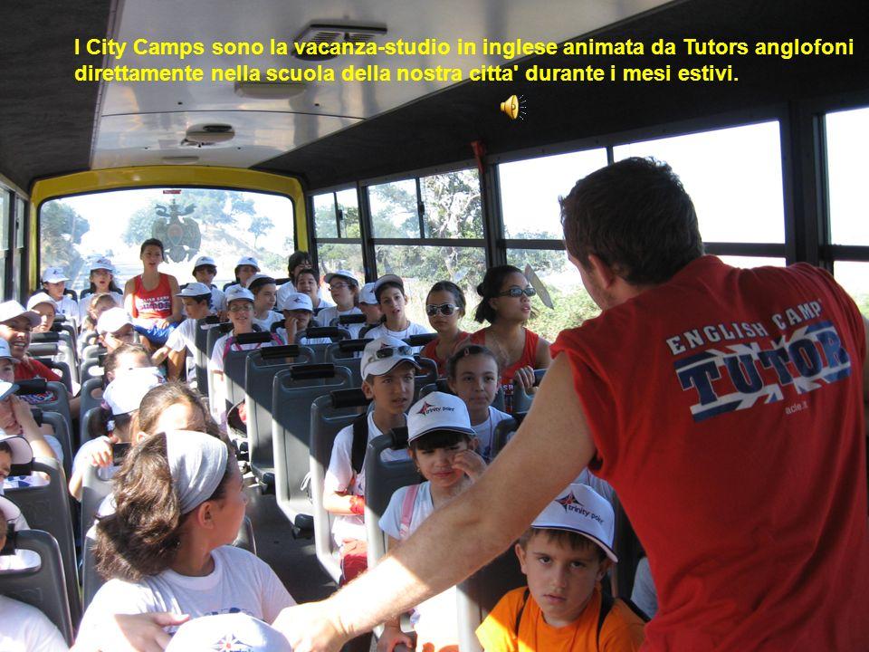 I City Camps sono la vacanza-studio in inglese animata da Tutors anglofoni direttamente nella scuola della nostra citta durante i mesi estivi.