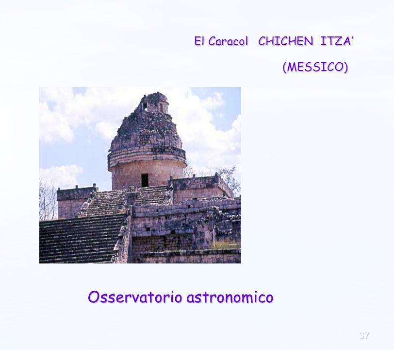 37 El Caracol CHICHEN ITZA Osservatorio astronomico (MESSICO)