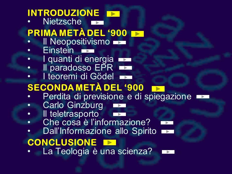 DALLINFORMAZIONE ALLO SPIRITO gianfranco basti