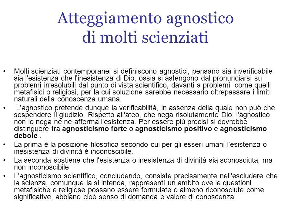Cenni storici sullagnosticismo Agnosticismo è un termine che deriva dal greco àgnostos, composto dal privativo a- e gnostòs, conoscibile, ovvero non conoscibile.