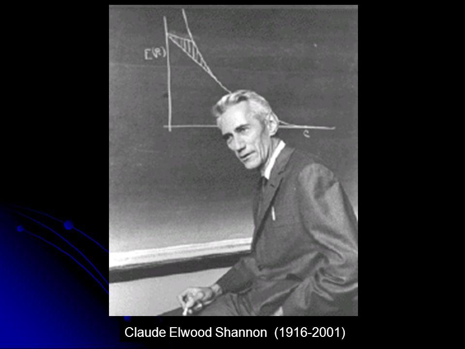 45 Claude Elwood Shannon (1916-2001)
