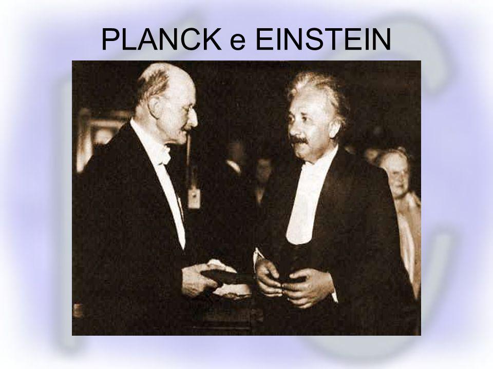 PLANCK e EINSTEIN