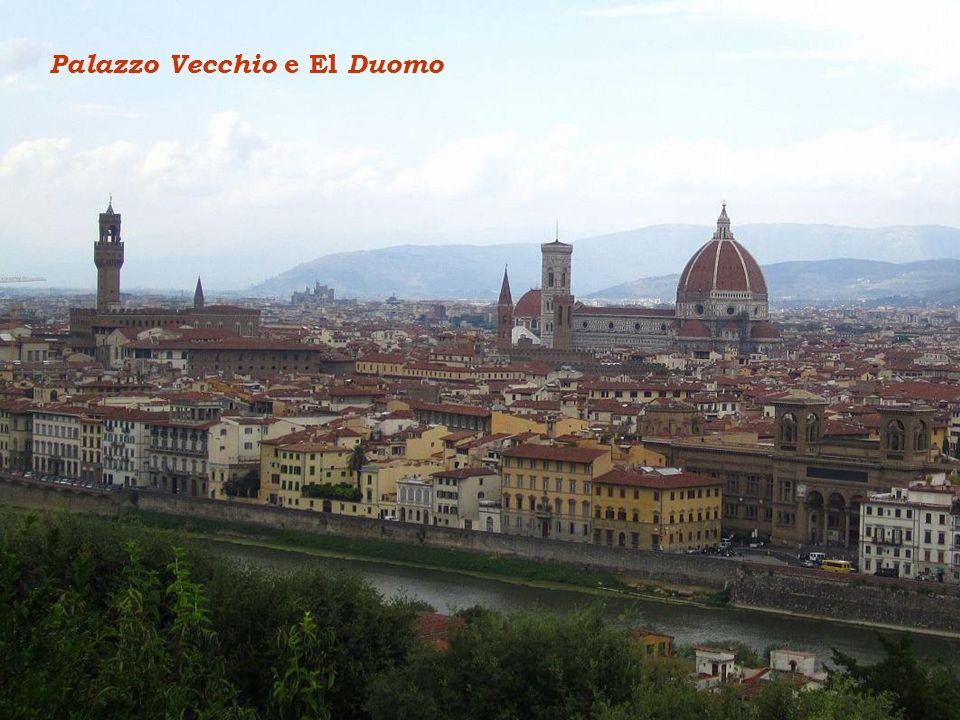 Palazzo Vecchio e El Duomo
