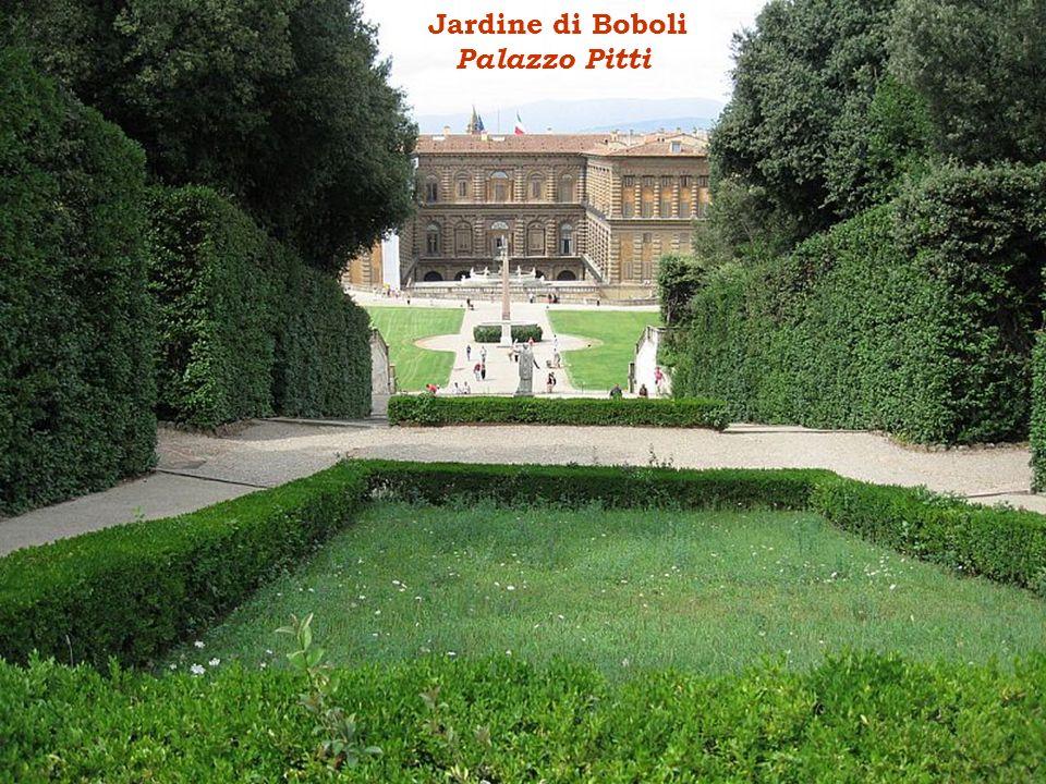 Jardine di Boboli Palazzo Pitti
