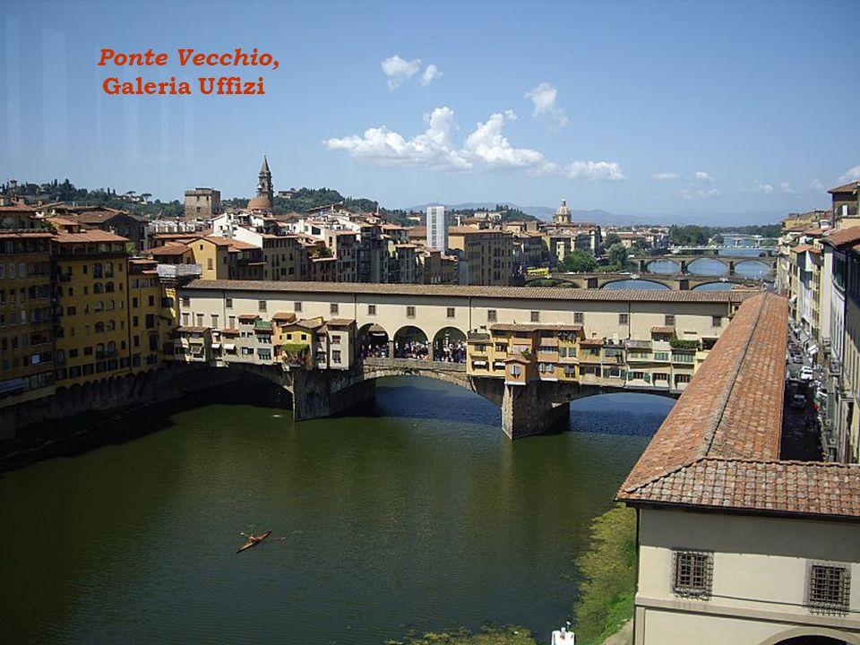 Ponte Vecchio, Galeria Uffizi