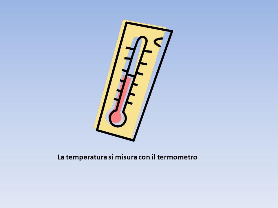 La temperatura è proprio la misura dell agitazione termica. Indica l energia posseduta dalle molecole del corpo stesso. La temperatura informa su quan