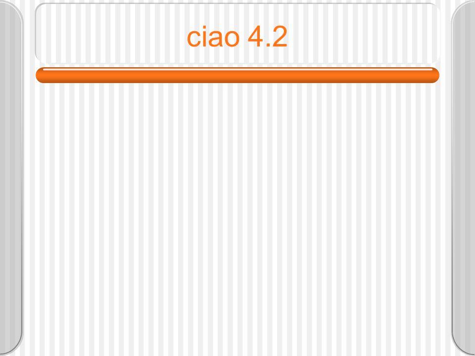 ciao 4.2