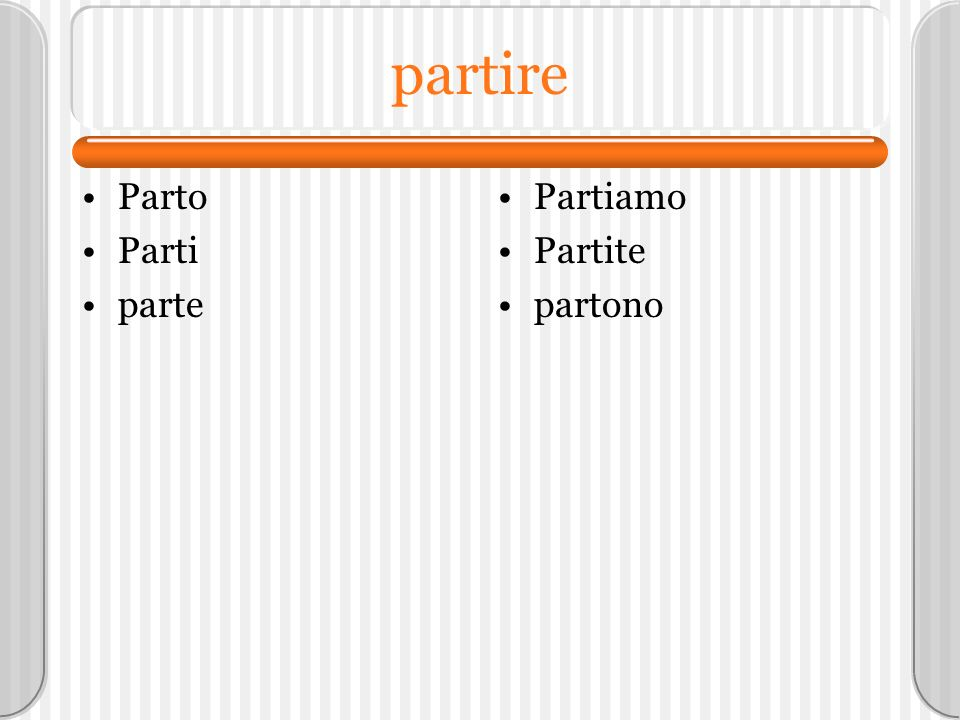 Di plus the articles Nouns that cannot be counted. –Pane –Latte –Carne –Caffè –minestra