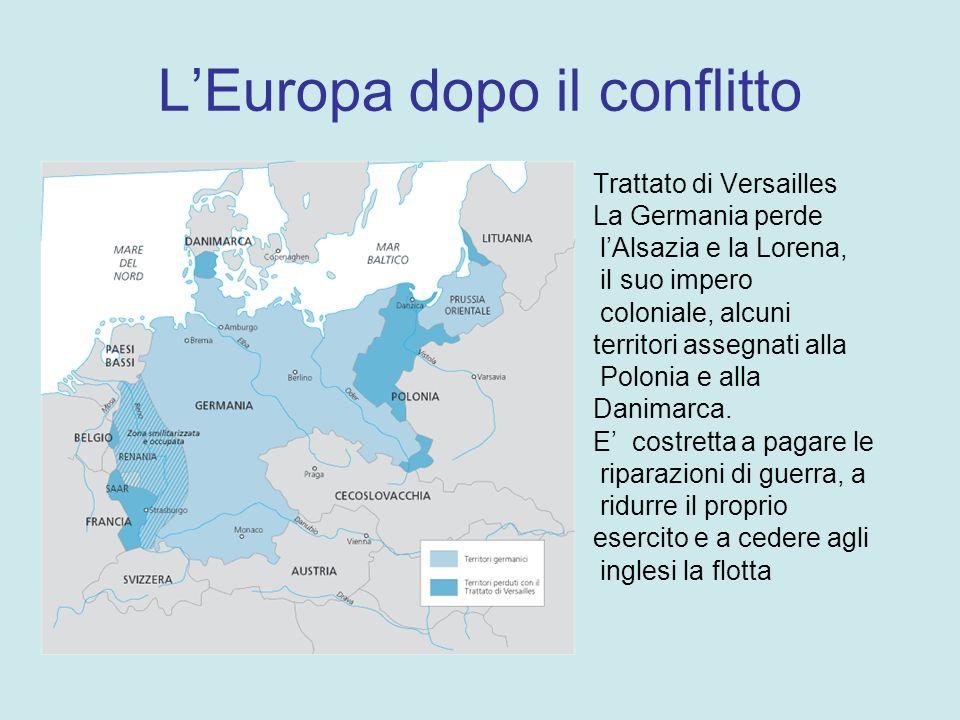 Accordi di pace Gennaio 1919 Trattati di pace di Versailles.