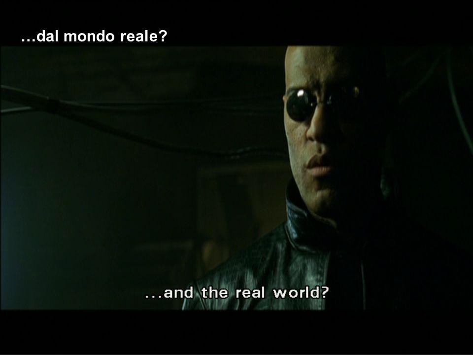 …dal mondo reale?