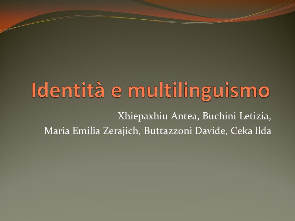 Xhiepaxhiu Antea, Buchini Letizia, Maria Emilia Zerajich, Buttazzoni Davide, Ceka Ilda