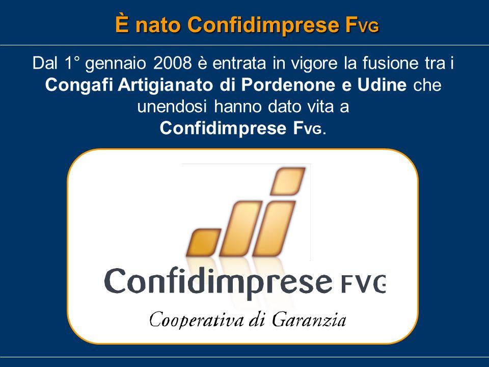 Dal 1°gennaio 2009 è entrata in vigore la fusione tra i Confidi Commercio ed Industria della provincia di Udine che hanno dato vita a Confidi Friuli È nato Confidi Friuli
