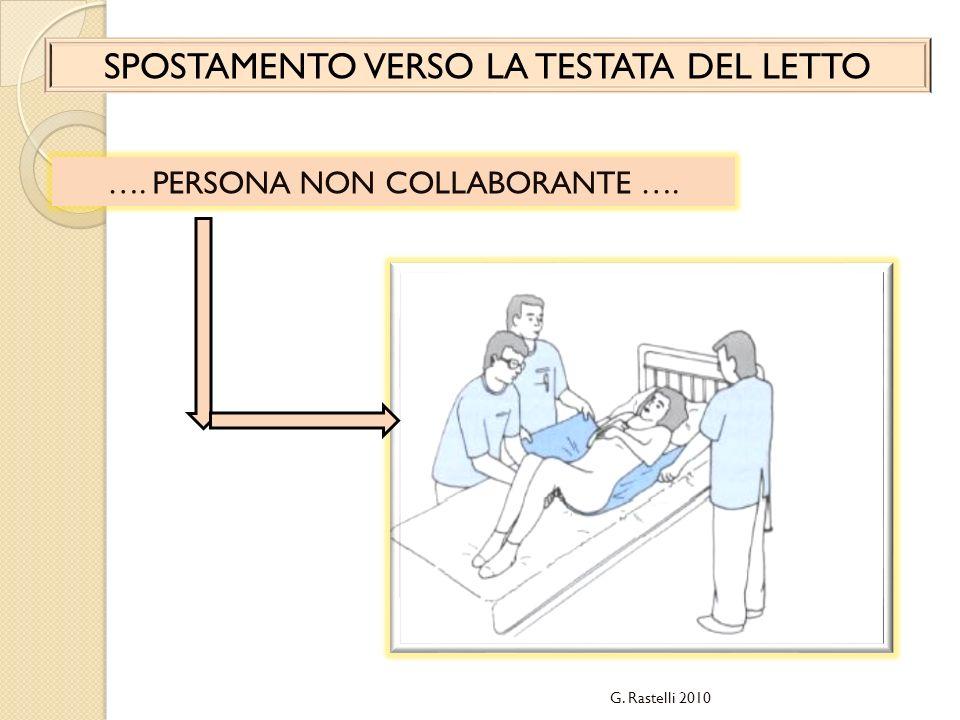 …. SPOSTARE LA PERSONA NON COLLABORANTE VERSO LA SPONDA DEL LETTO …. G. Rastelli 2010