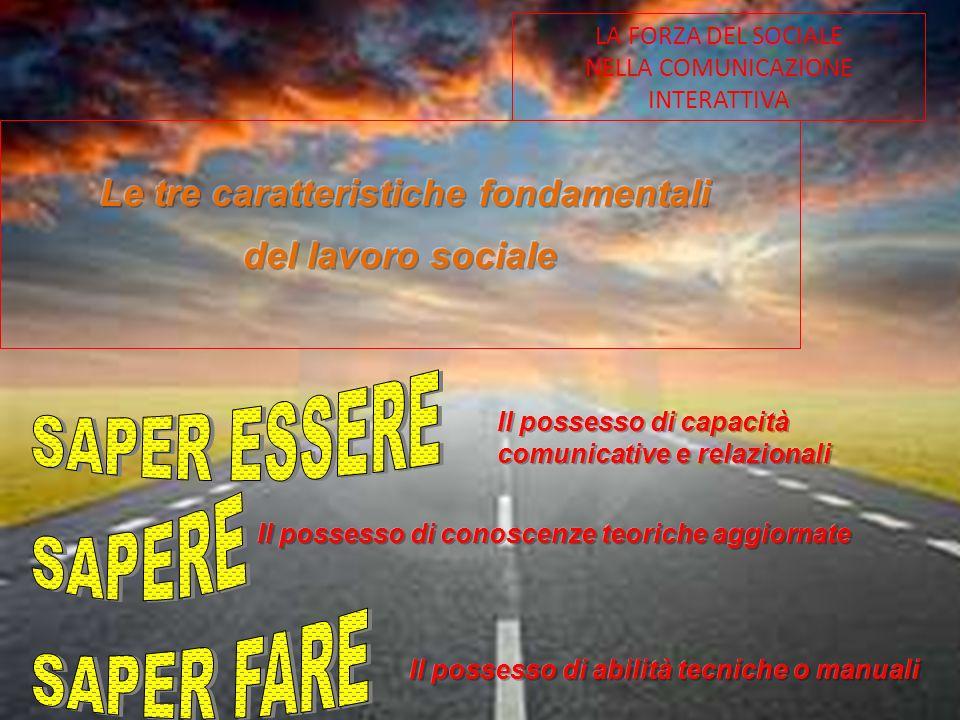 LA FORZA DEL SOCIALE NELLA COMUNICAZIONE INTERATTIVA