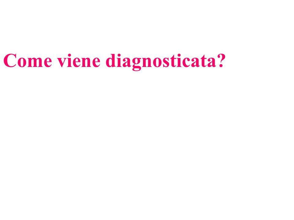 Come viene diagnosticata?