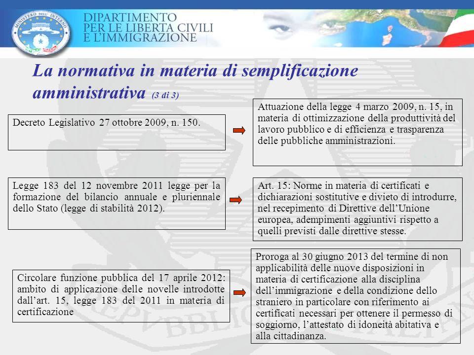 Decreto Legislativo 27 ottobre 2009, n. 150. Attuazione della legge 4 marzo 2009, n. 15, in materia di ottimizzazione della produttività del lavoro pu