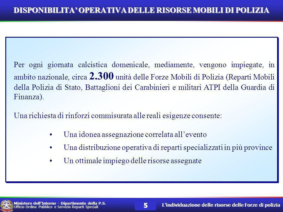 Ministero dellInterno Dipartimento della P.S. Ufficio Ordine Pubblico Servizio Reparti Speciali Roma, 19 – 20 e 23 aprile 2007 – Legge 4 aprile 2007 n