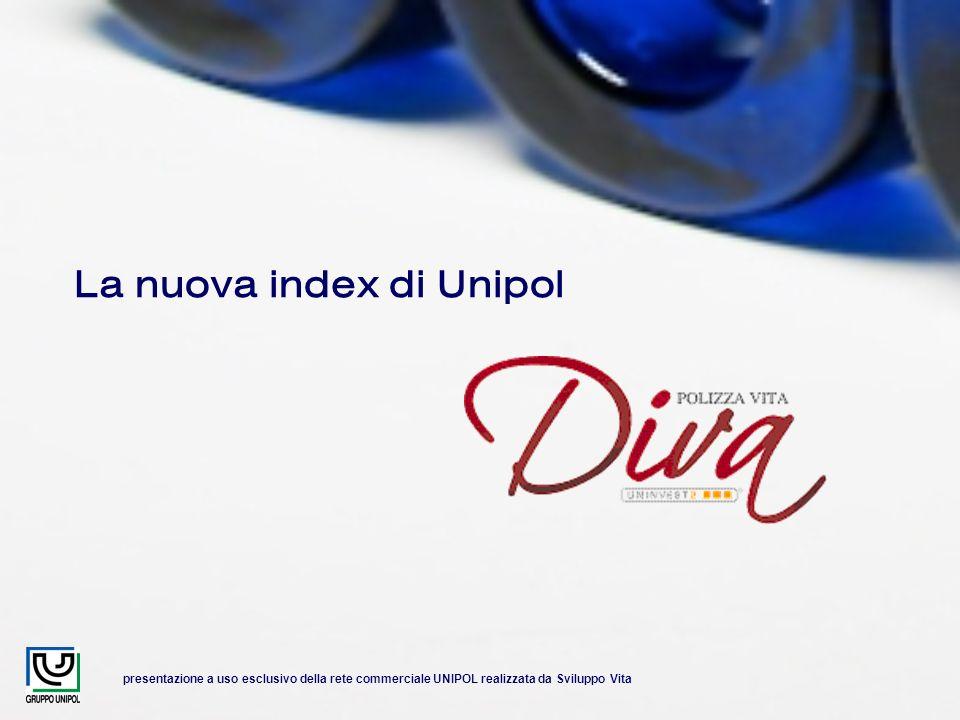 presentazione a uso esclusivo della rete commerciale UNIPOL realizzata da Sviluppo Vita La nuova index di Unipol