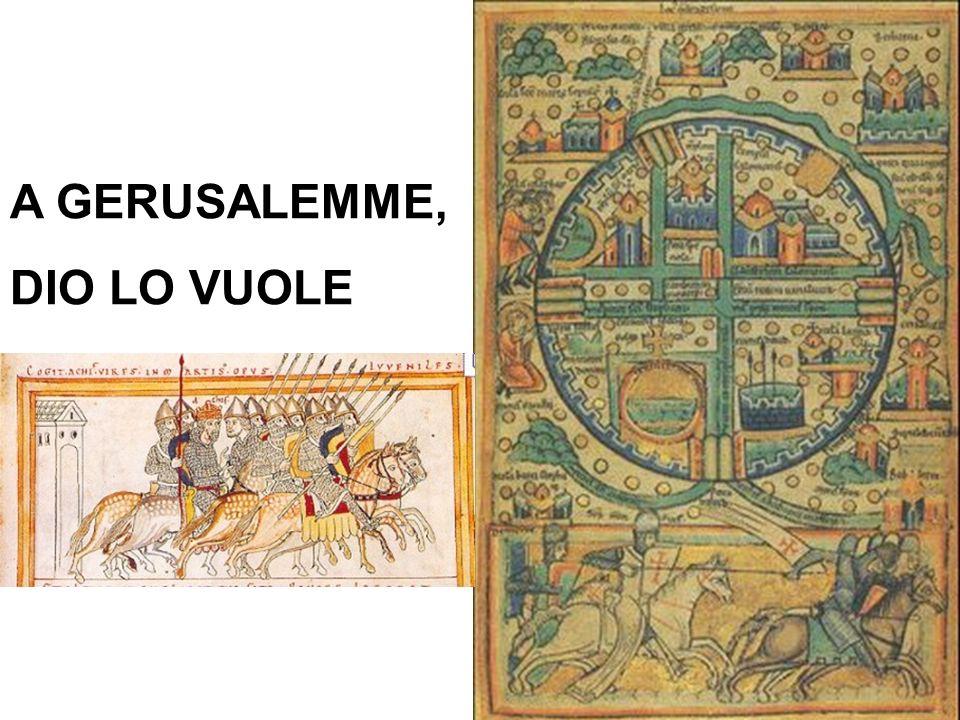 A GERUSALEMME, DIO LO VUOLE