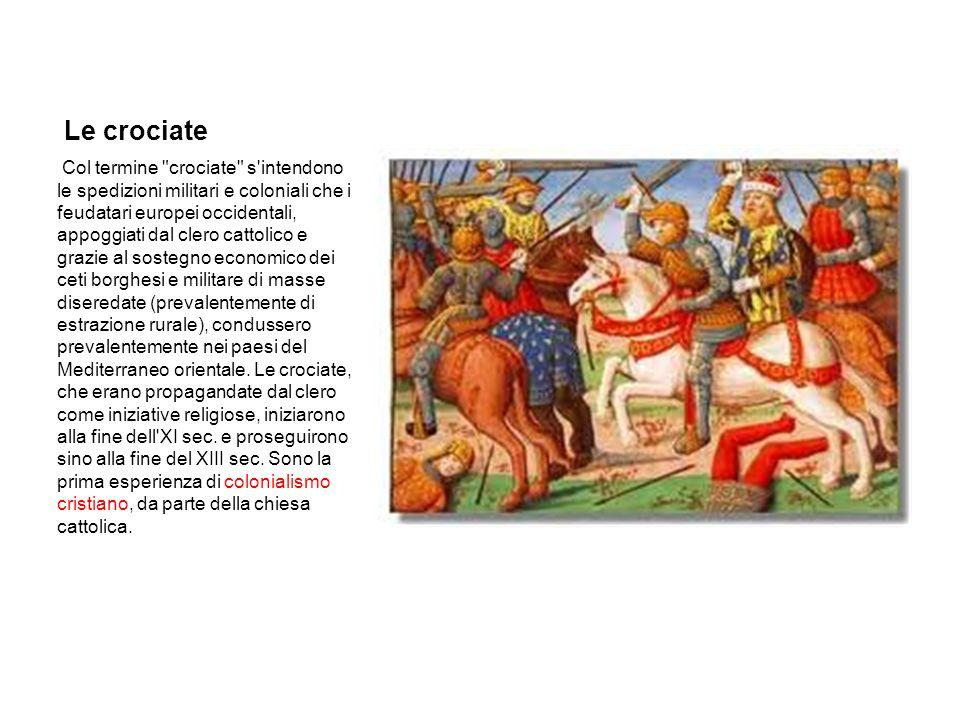 Conclusioni Nel suo insieme l Europa occidentale ha capito l importanza del denaro con le crociate medievali; e, di queste, la più importante è stata la quarta, che ha permesso ai veneziani di monopolizzare i traffici sul Mediterraneo orientale per circa due secoli.